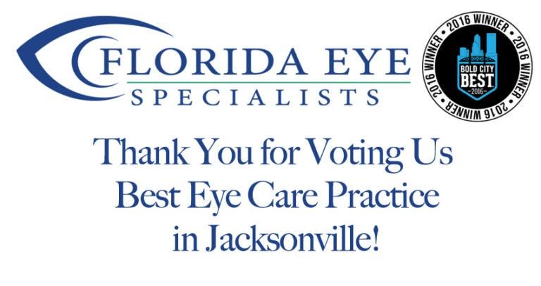 Florida Eye Specialists | Bold City Best Winner 2016