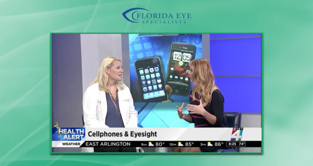 Dr. Freidl Cell Phone Use and Eyesight   Florida Eye Specialists