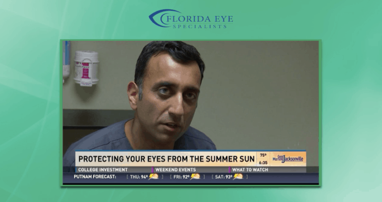 Dr. Chokshi on First Coast News | Florida Eye Specialists
