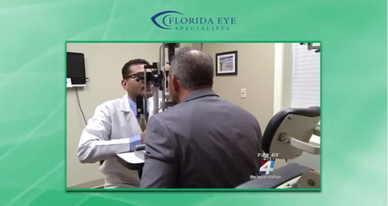 Dr. Ravi Patel on News4Jax Discusses the Dangers of Misusing Contact Lenses