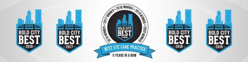 Florida Eye Specialists - Bold City Best Eye Care Practice 5 Years in a Row