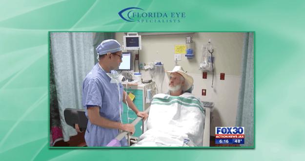 Dr. Ravi Patel Performs Pro Bono Cataract Surgery for Hurricane Victim   Florida Eye Specialists