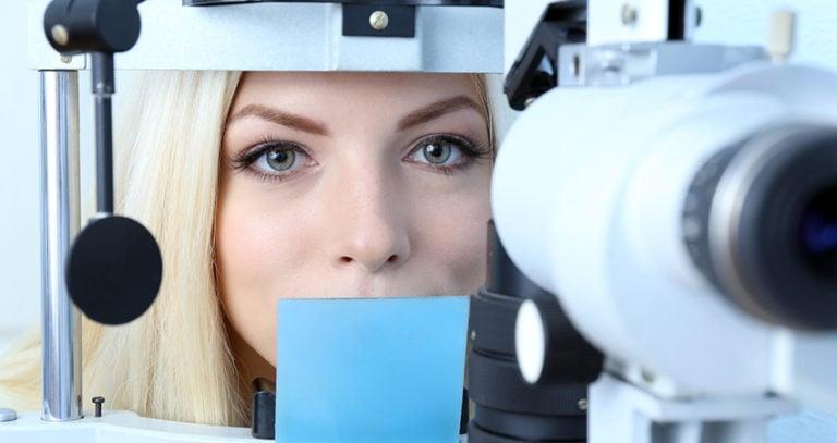 Woman Eye Exam | Florida Eye Specialists
