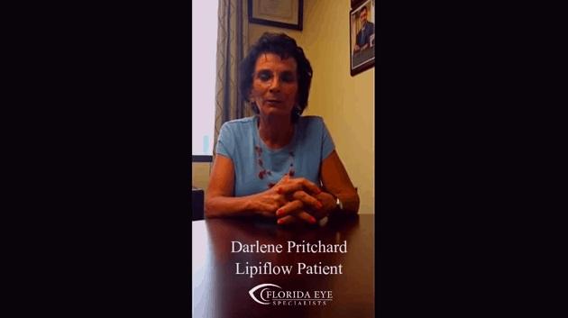 Darlene Pritchard Lipiflow Patient Testimonial
