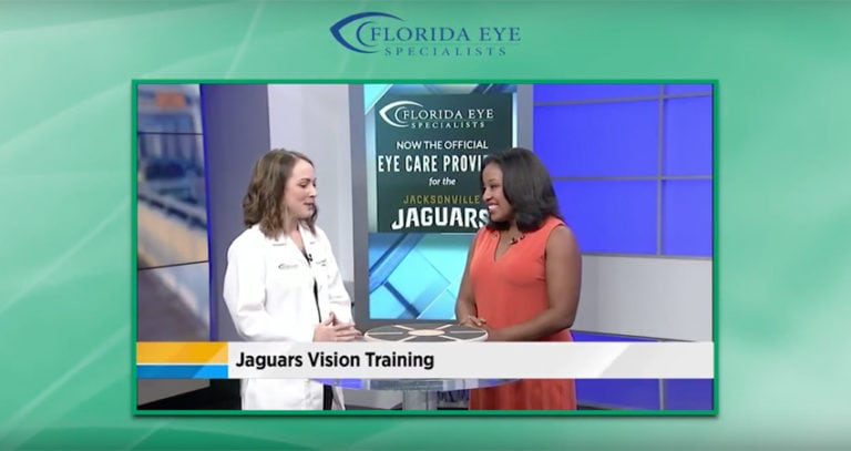 Florida Eye Specialists Official Eye Care Provider of the Jacksonville Jaguars Sports Vision Training